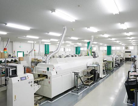 基板実装部門と組立部門を有する日新インダストリーだからできるワンストップ生産
